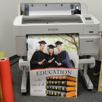 Print with water proof and long lasting inks with the Education Pro Color Poster Maker for schools