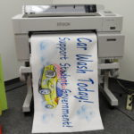Print color posters and banners from Windows and Mac software with the Education Pro Color Poster Maker for schools